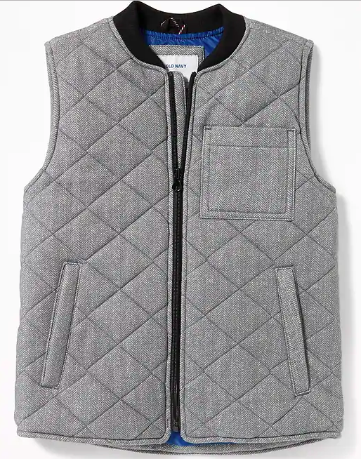Back to School Clothes - Gray Little Boys Vest