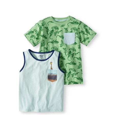 Back to School Clothes - Graphic T-shirt and Tank