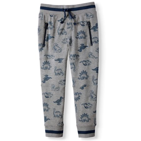 Back to School Clothes - Dinosaur Pattern Little Boys Jogger Pants