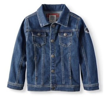 Back to School Clothes - Little Boy Jean Jacket
