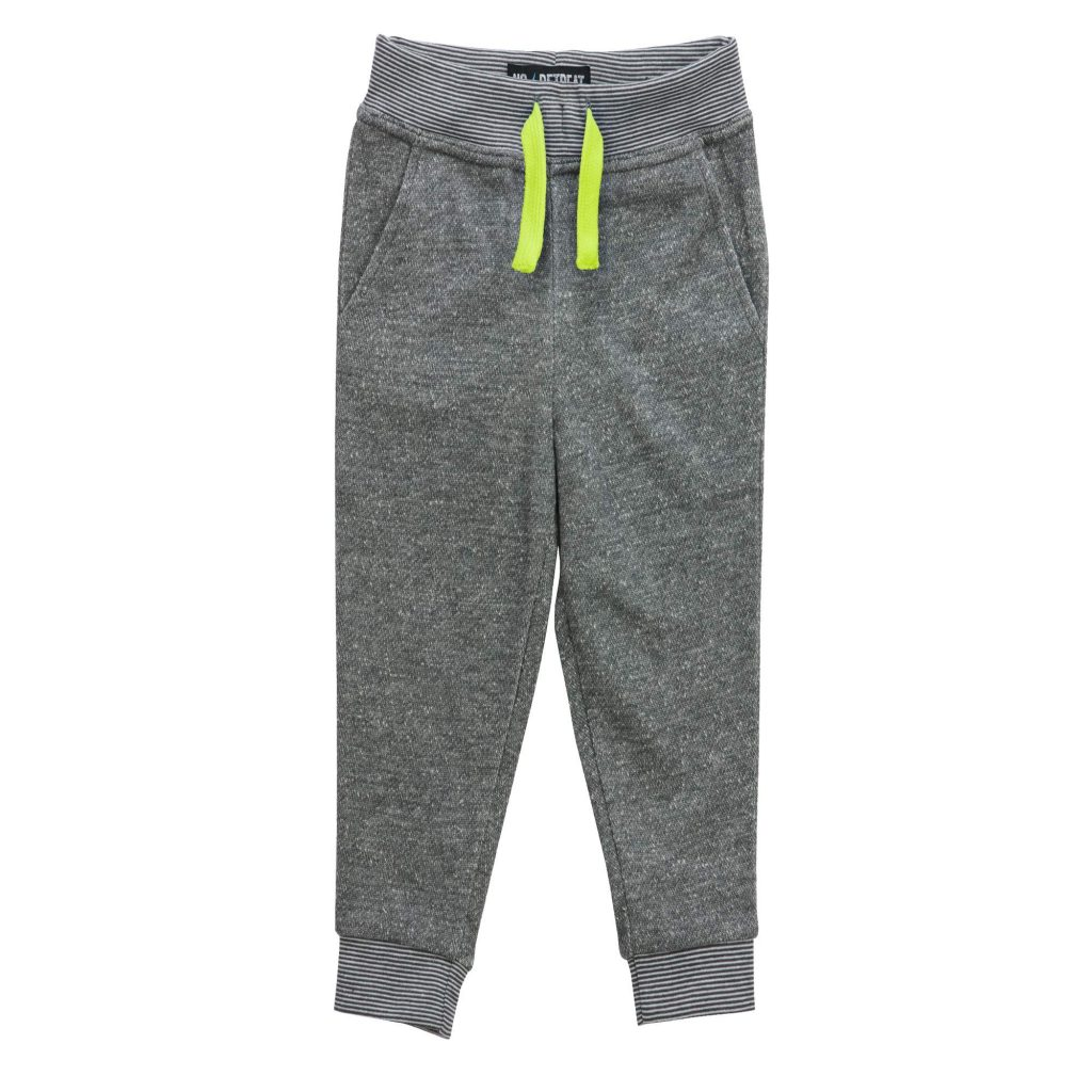 Back to School Clothes - Gray Little Boy Joggers