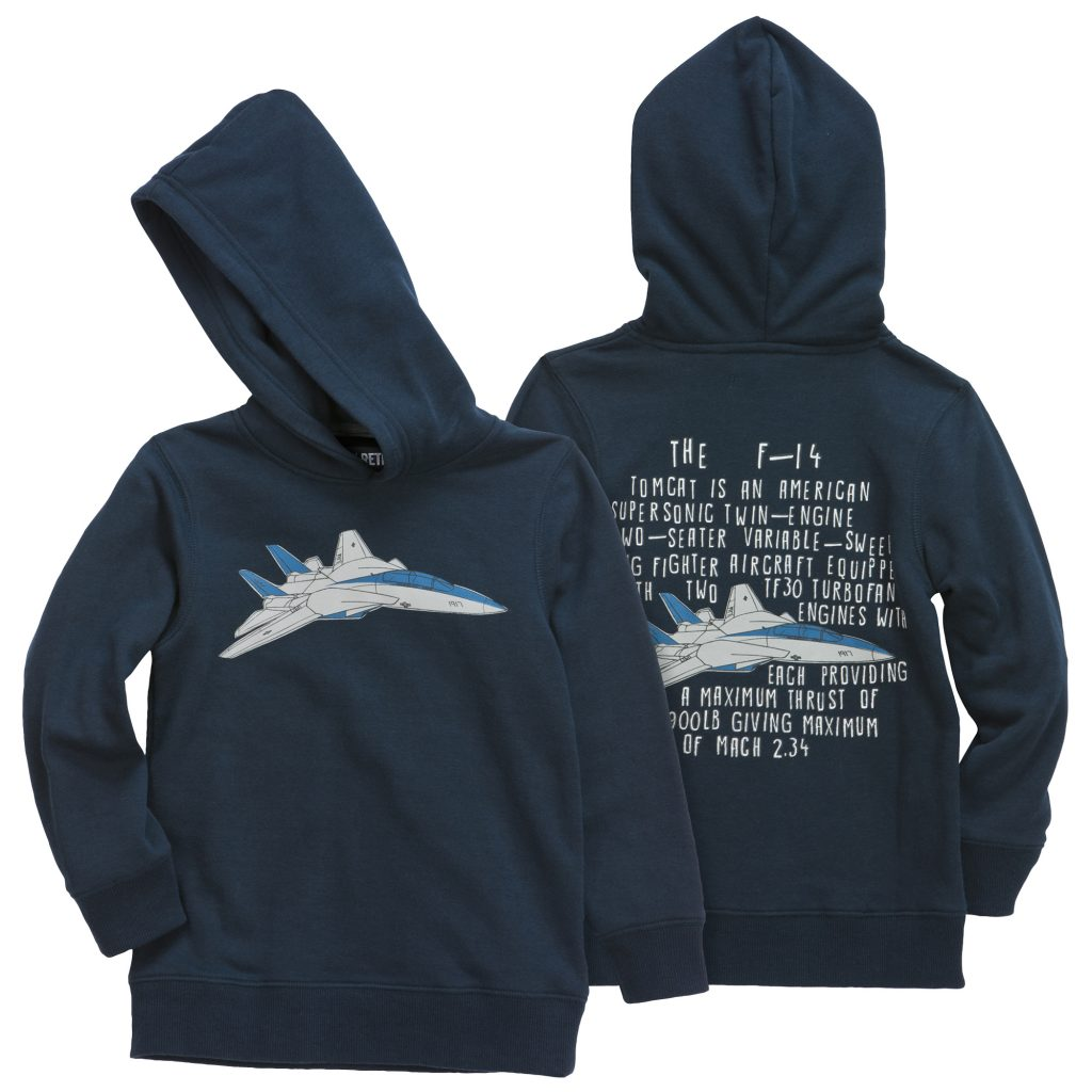 Back to School Clothes - Plane Graphic Hoodie