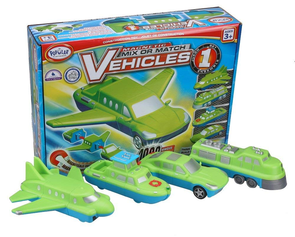 Toys - Mix and Match Vehicles