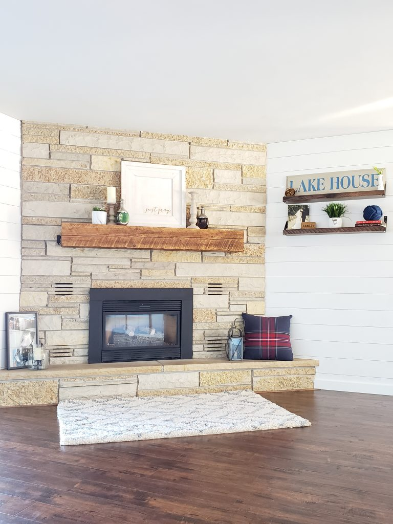 House Remodel - Fireplace