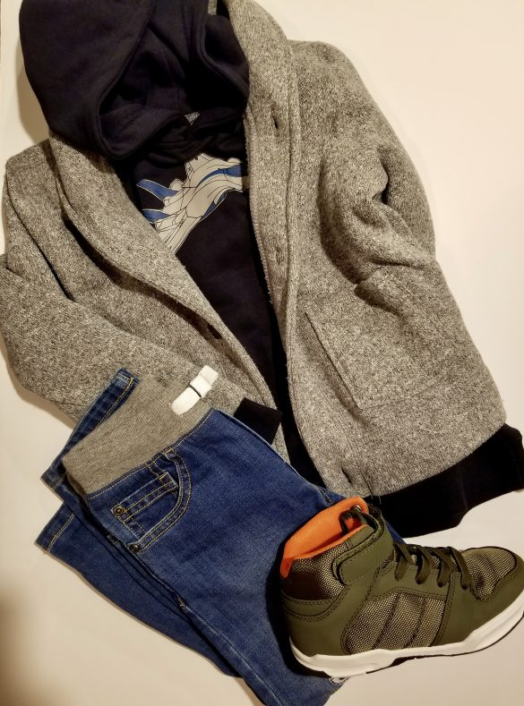 Mix and Match Outfits for Little Boys