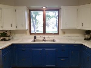 Panted Cabinets