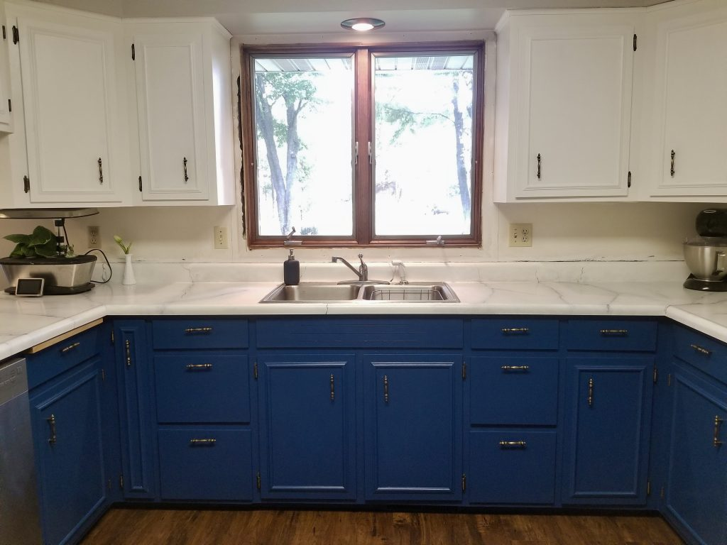 Finished Painted Cabinets