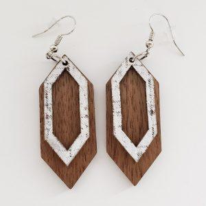 Geometric Stacked Earring