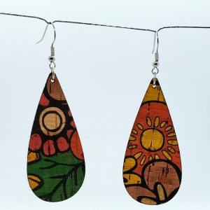 Color Cork Earring