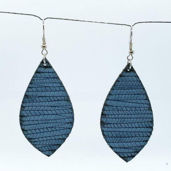 Denim Blue Earring